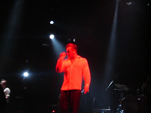 Morrissey live in Hamburg