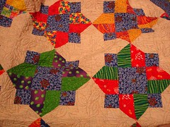 a couple quilt blocks