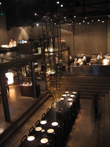 Japanese restaurant interior
