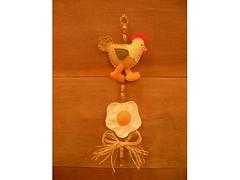 Mobile de galinha em feltro photo by Atelie do Artesanato Campinas