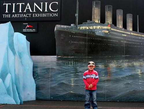 titanic in victoria