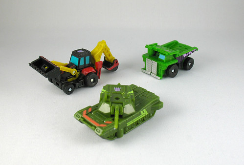 Classics Minicons Sledge, Broadside, and Wideload