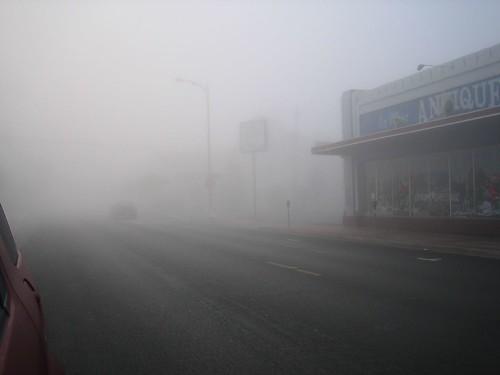 La Mesa, CA fog