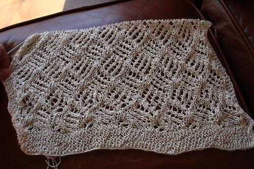 Current lace stole