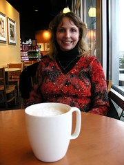 starbucks, tracey and a cup of joe