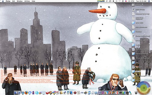 Secret Snowman desktop