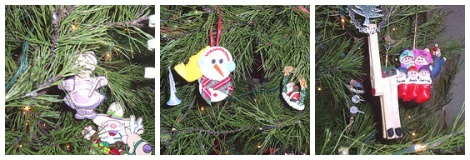 Old Homemade ornaments