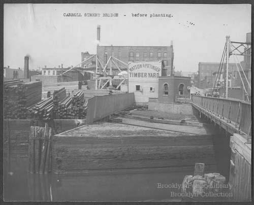 Carroll St Bridge Before Planting