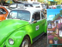 Taxi en San Angel