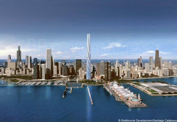 Fordham Spire Santiago Calatrava Chicago