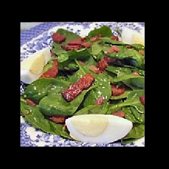Not Mine - Spinach Salad