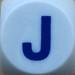 Boggle Letter J