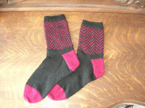 Red herring socks