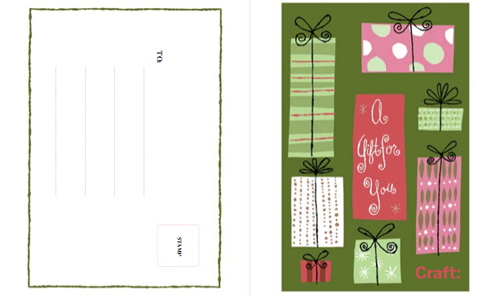 CRAFT gift card