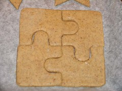 Puzzle-Lebkuchen