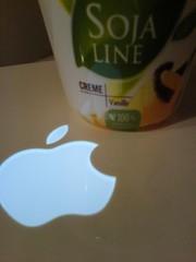 nimm den Apfel