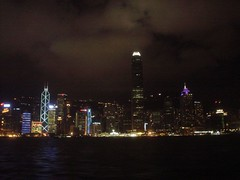 63.天星小輪上的港島夜景