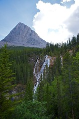 Waterfall on our way to Grassi Lakes