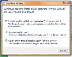 Driver Install Error Problem #1