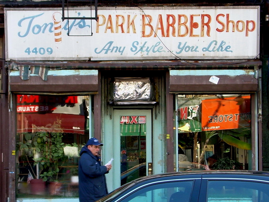 barber shop, sunset park