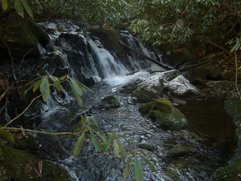 Waterfall on Meigs Creek