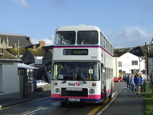 38749 AFJ749T First Devon & Cornwall.