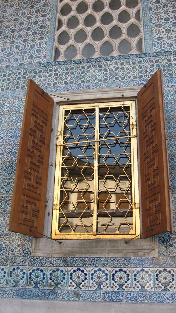ventana en el Palacio Topkapi