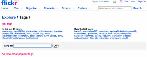 Bushfire tag screengrab for my blog