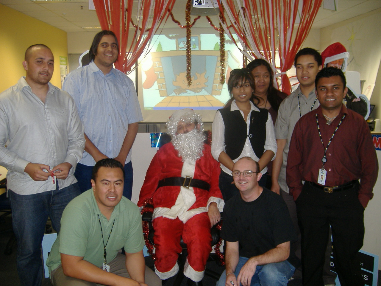 Picture with Santa
