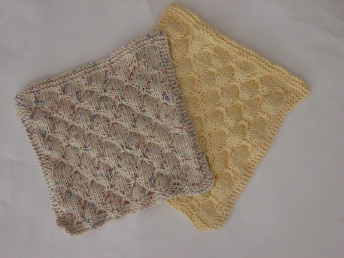 Smocked dishcloths