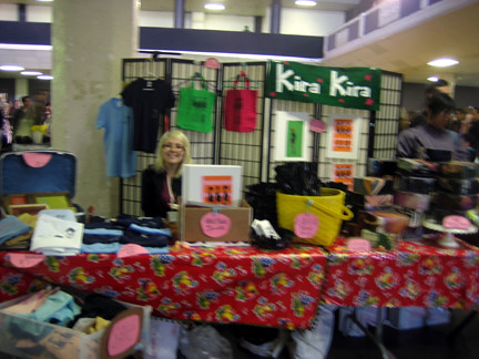 My Booth - Bazaar Bizarre, Dec. 16, 2006