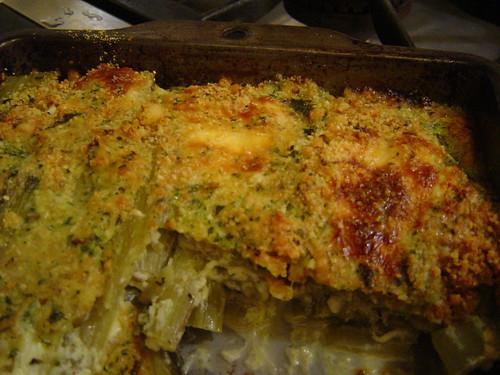 Swiss chard lasagna