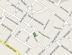 Mapa de localización de la calle Estébanes, en Zaragoza