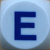 Boggle Letter E