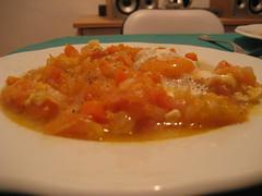 Foto del pisto naranja
