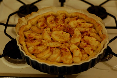 There's nothing better than baking an apple pie to make your house smell good!