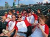 CLA Students Take in NH Fisher Cat Game