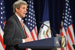 Secretary Kerry Delivers Remarks at a Town Hall at the State Department