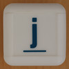 Boggle Junior letter j