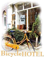"""[解ç""""] WorldWise:Wheels & More Wheels_(9) Bicycle Hotel in Amsterdam"""