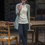 Kate Fry (Hannah Jarvis) in ARCADIA at Writers Theatre. Photo by Michael Brosilow.