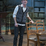 Christopher Sheard (Valentine Coverly) in ARCADIA at Writers Theatre. Photo by Michael Brosilow.