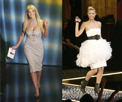 Britney Spears.Paris Hilton