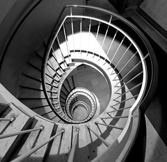 Spiral stairways (Munich) (I) photo by manuela.martin
