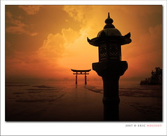 Miyajima Torii Gate (Japan) photo by Eric Rousset