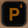 WORDS with FRIENDS RACE letter P