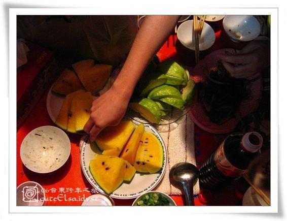 台東巴浪家-飯後水果