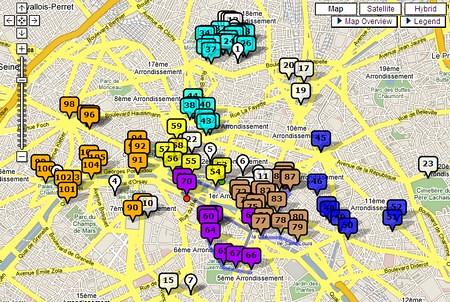巴黎景點規劃