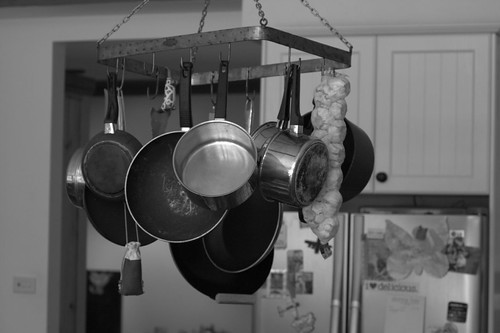 handy pots and pans