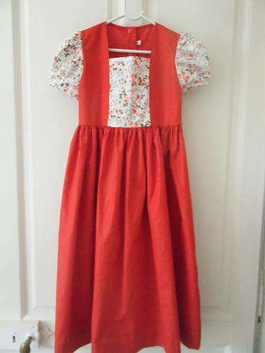2015. rouge baiser robe